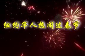 [视频]2015纽约华人热闹过春节