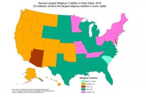 佛教成为美国西部第二大宗教